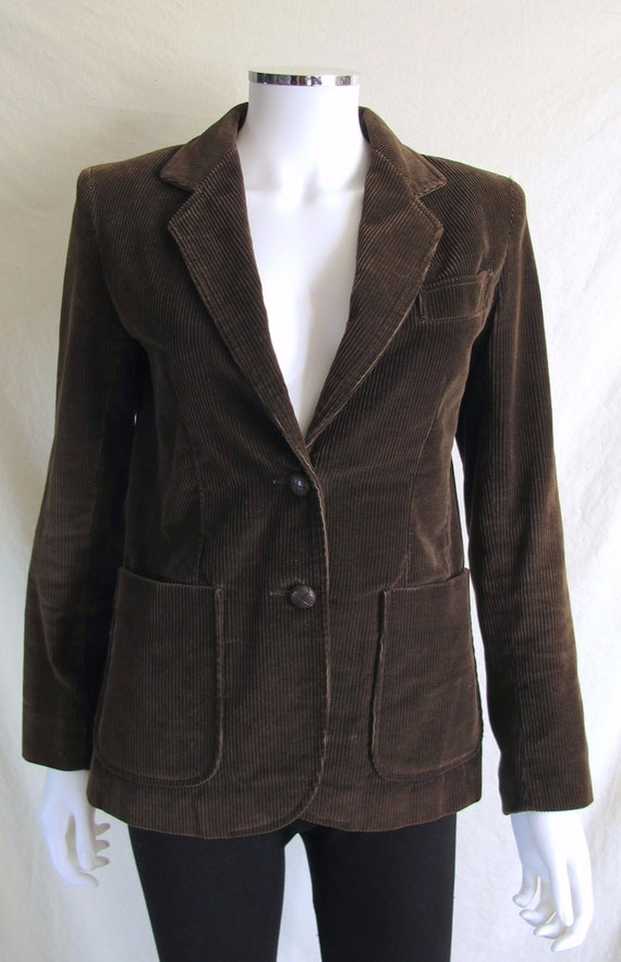 Shop from the world's largest selection and best deals for Corduroy Brown Coats & Jackets for Women. Free delivery and free returns on eBay Plus items.