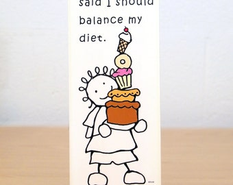 Balanced Diet Sign