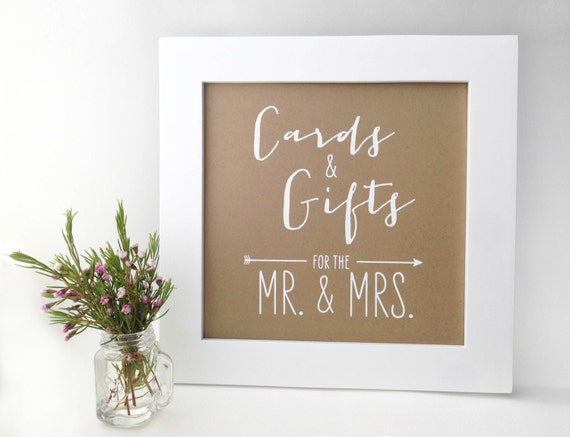 Wedding Gift Table Sign Ideas : Unavailable Listing on Etsy