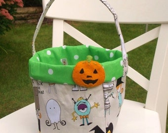 Halloween basket - can be personalised