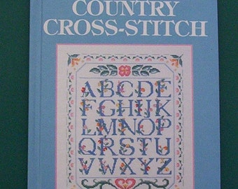 Country Cross-stitch. McCall's Needlework & Crafts 1992 Vintage Hardcover