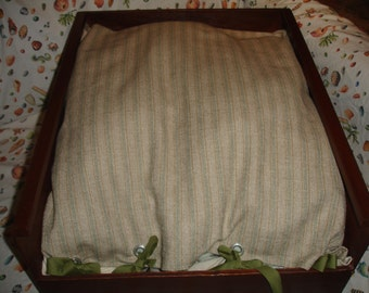 Ready to ship! Upcycled Drawer Pet Bed for your  Cat or Dog
