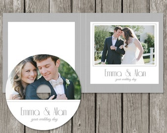 Dvd case etsy cd label template wedding dvd case cd sleeve cover cl04 pronofoot35fo Choice Image