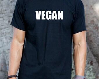 Vegan T-shirt Funny Veggies Vegetable Veganism Tee Shirt