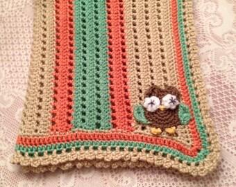 Baby Owl Blanket.