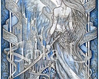 Original illustration - Princess, elven art