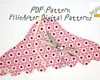 Textile Cozy Textile Hanger Cover PDF Pattern and Tutorial with Instructions, Easy Sewing Tutorial, Textile Hanger Cover, Instant Download