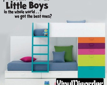 How is it Possible that out of all the Little Boys in the Whole World - Vinyl Wall Decal - Wall Quotes - Vinyl Sticker - Ct061Howisvii8ET
