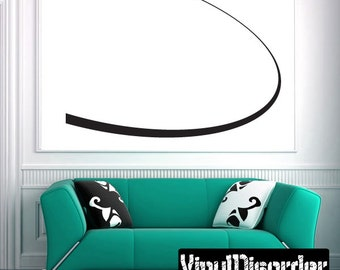 Airplane Vinyl Wall Decal Or Car Sticker - Mvd003ET