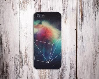 Geometric Space Galaxy Phone Case, Stars,iPhone 7, iPhone 7 Plus, Tough iPhone Case, Galaxy s8, Samsung Galaxy Case, Note 5, CASE ESCAPE