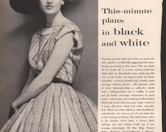 Fashion photo/illustration, Vogue or Harpers Bazaar, 9x12 in - fash403