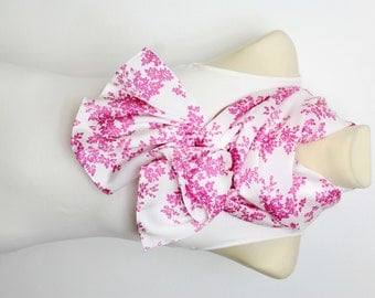 White Scarf Floral Scarves for Women Pink Scarf Spring Scarf for Women Pink and White Satin Scarf inspirational women Gift Mom from Son