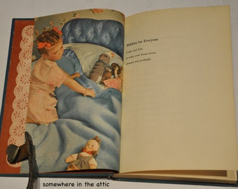 1952 Vintage Book The Homemaker's Encyclopedia HOBBIES for EVERYONE  Crafts & Arts by Miriam B Reichl 171 Illustrations