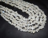 White Rainbow Moonstone Tumble Beads 1 Strands Stone Size: 15 X 5 To 8 X 5 MM Approx 100% Natural Finest Aaa Quality Wholesale Price