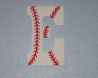 BASEBALL wooden letters for childs room or nursery Hand-Painted