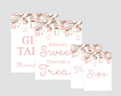 Printable Baby Shower Tab...