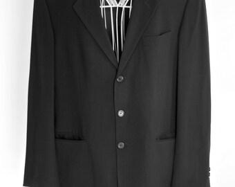 Black blazer /Jacket, mens.Adolfo Dominguez  Vintage 90s