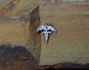 Queensryche tri-ryche eagle hand cut coin