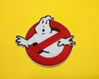 Iron on Sew on Patch:  Ghost Busters (classic)