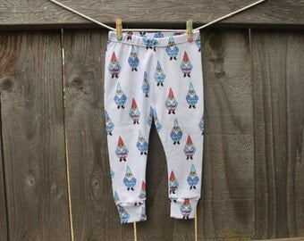 Gnome Baby Leggings // Baby Legging // Baby Clothes // Baby Pants // Gnome Leggings // Baby Boy Leggings // Baby Girl Leggings // Gnome