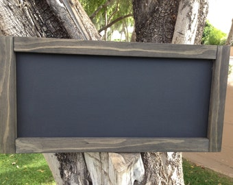 "Rustic MAGNETIC Chalkboard 12""x24"", Reclaimed Wood Rustic Wedding Chalkboard, Magnetic Chalkboard Menu Board, Chalkboard, Kitchen Chalkboard"
