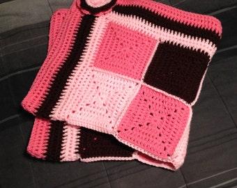 Granny Square Infant Blanket
