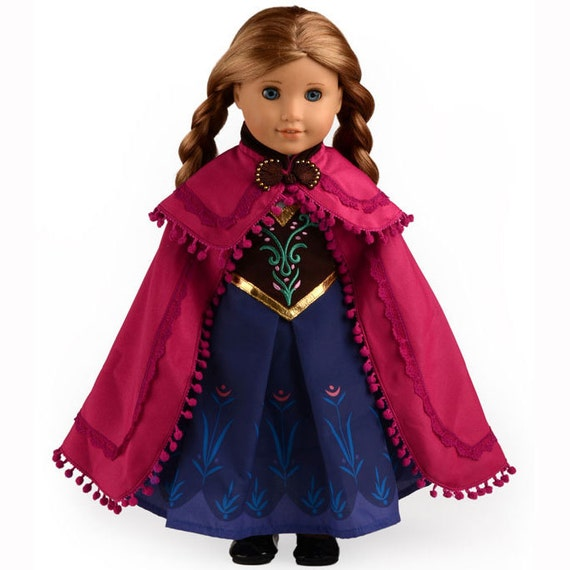 Disney Princess Doll Clothes: American Girl Doll Clothes Disney Frozen By Neverlandfordoll
