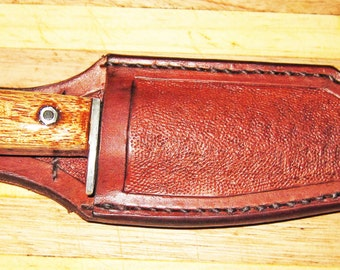 Antique Look Leather Knife Sheath