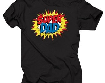 Super Dad Gift For Father T-shirt Tee Shirt