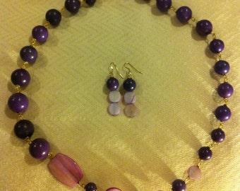 Purple  Bliss Necklace