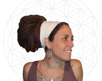 Headband - Organic Cotton and Hemp Jersey Hair Band - Perfect for yoga