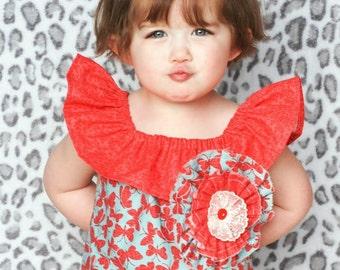 Girls maxi dress - little girls maxi dress -  bohemian dress - Vintage dress - 4th of July -  Independence day - Spring dress - Summer dress