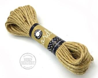 Hemp String, 45 inches, 3mm Hemp, Craft Rope, Natural Twine, Rope -T95
