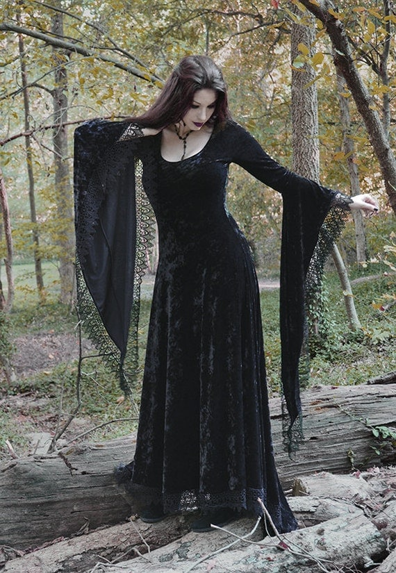 Sorrena fairy tale dark romantic gothic dress by rosemortem