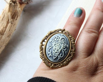Woodland Elven Bridal Ring