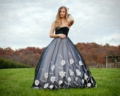 Gilded Lily Sweetheart Ballgown