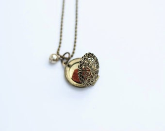 Oil Diffuser Necklace, Aromatherapy Jewelry, Essential Oil Diffuser, Scented Oil Necklace, Essential Oils, Diffuser Jewelry, Locket Necklace