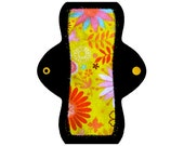 "Reusable Pantyliner (8"" Light - Sunburst Flannel)"