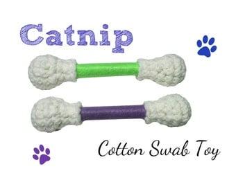 Cat Toy -  Cotton Swab Cat Toys - LARGE
