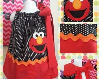 Elmo Dress for Birthday, Sesame Street Live, or everyday wear