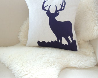 Deer Pillow Cover - Luxe Lodge