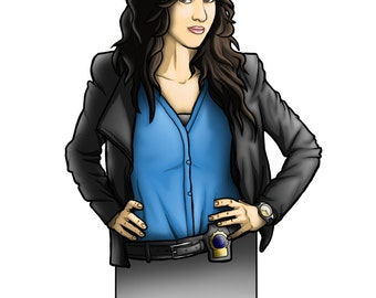 Bookmark Rosa Diaz Brooklyn Nine Nine TV Series