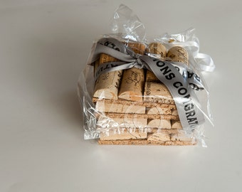 Wine Cork Coasters, Wedding Gift Ideas, Wine Cork Crafts, Wedding Favors, Bridal Shower Gift,  Wine Themed Wedding