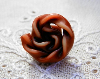 Celluloid  Extruded Button Twisted Spiral