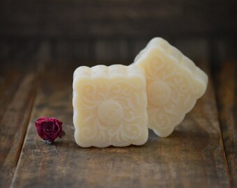 Romantic Amber Soap, Love Gift Soap, Cold Process Soap, Vegan Soap, Scented Soap, Square Soap, Hand Soap, Decorative Soap, Novelty Soap