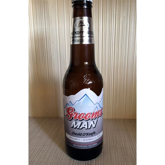 Custom Beer Bottle Labels Personalized Wedding By: Items Similar To Personalized Beer Label. Create A Custom