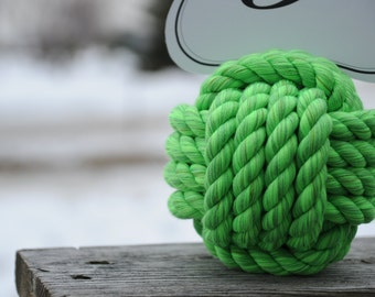 Lime Wedding - Nautical Wedding - Nautical Decor - Lime - Wedding Table Placecard Holders - (this is per knot)