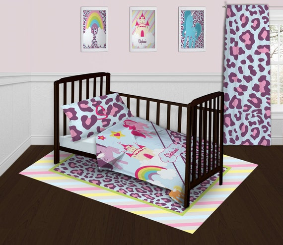 Purple Bedding Baby Bedding for Girls Horse by ...