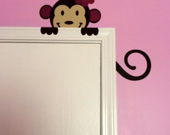 Monkey Nursery Vinyl Decal