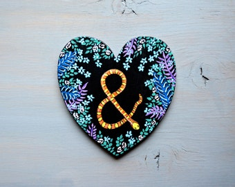 Ampersand decor etsy for Ampersand decoration etsy